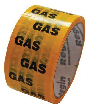 Regin gas identification plumbers tape REGA06