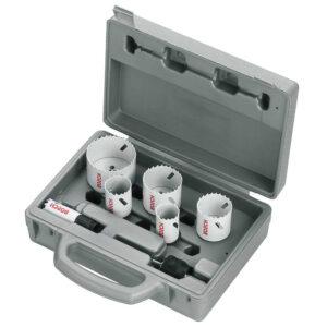 Bosch progressor holesaw kit 9 piece 2608594189