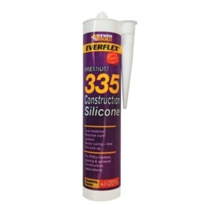 Everbuild Everflex 335 construction silicone white