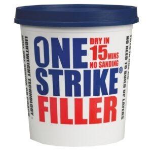 Everbuild one strike filler 1 litre, 2.5 litre & 5 litre tubs