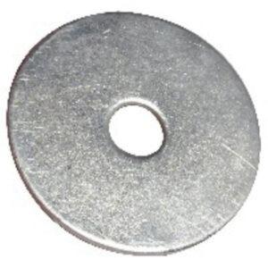 Bright zinc mudguard penny washer M5 M6 M8