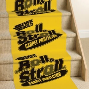 Everbuild Roll N Stroll carpet protection sheet protecta 600mm x 25m 50m 100m