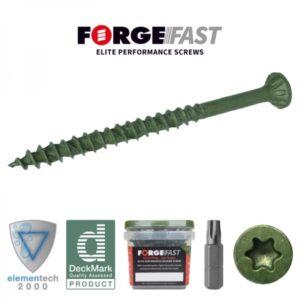 Forgefast decking screws 4.5 x 60mm