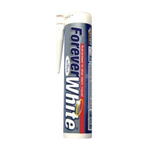 Everbuild Forver White Clear Silicone sealant