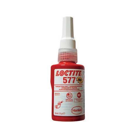 Loctite 577 gel. Plumbers thread seal gel