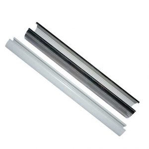 Talon snappit pipe shroud cover 15mm 22mm white chrome