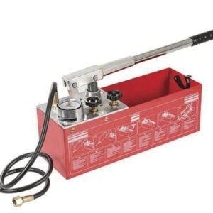 dual valve pressure testing pump