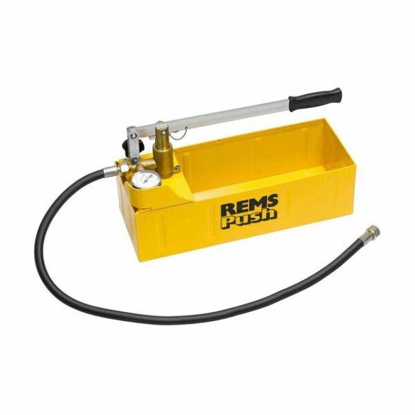 Rems 115000R Push hand pressure testing pump