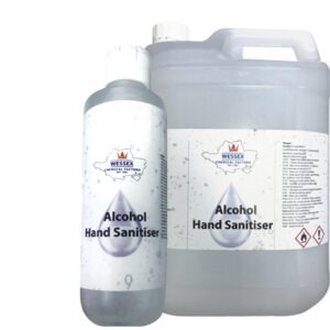 alcohol hand sanitiser gel 250ml 5 litre