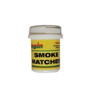 Regin smoke matches tubs of 25 and 100