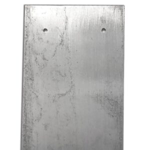 Pipe protection plate. steel gas capping plate