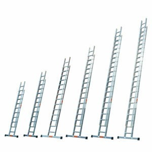 Professional double & triple extension ladders by TB Davies