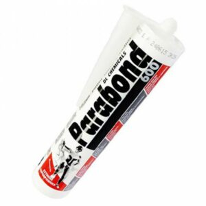 Parabond 600 Polymer sealant adhesive mastic DL chemicals shower tray new build specification
